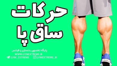 تصویر آموزش حرکات ساق پا بدنسازی
