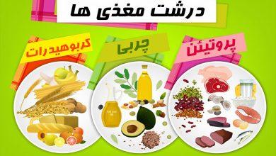 میزان درشت مغذی روزانه
